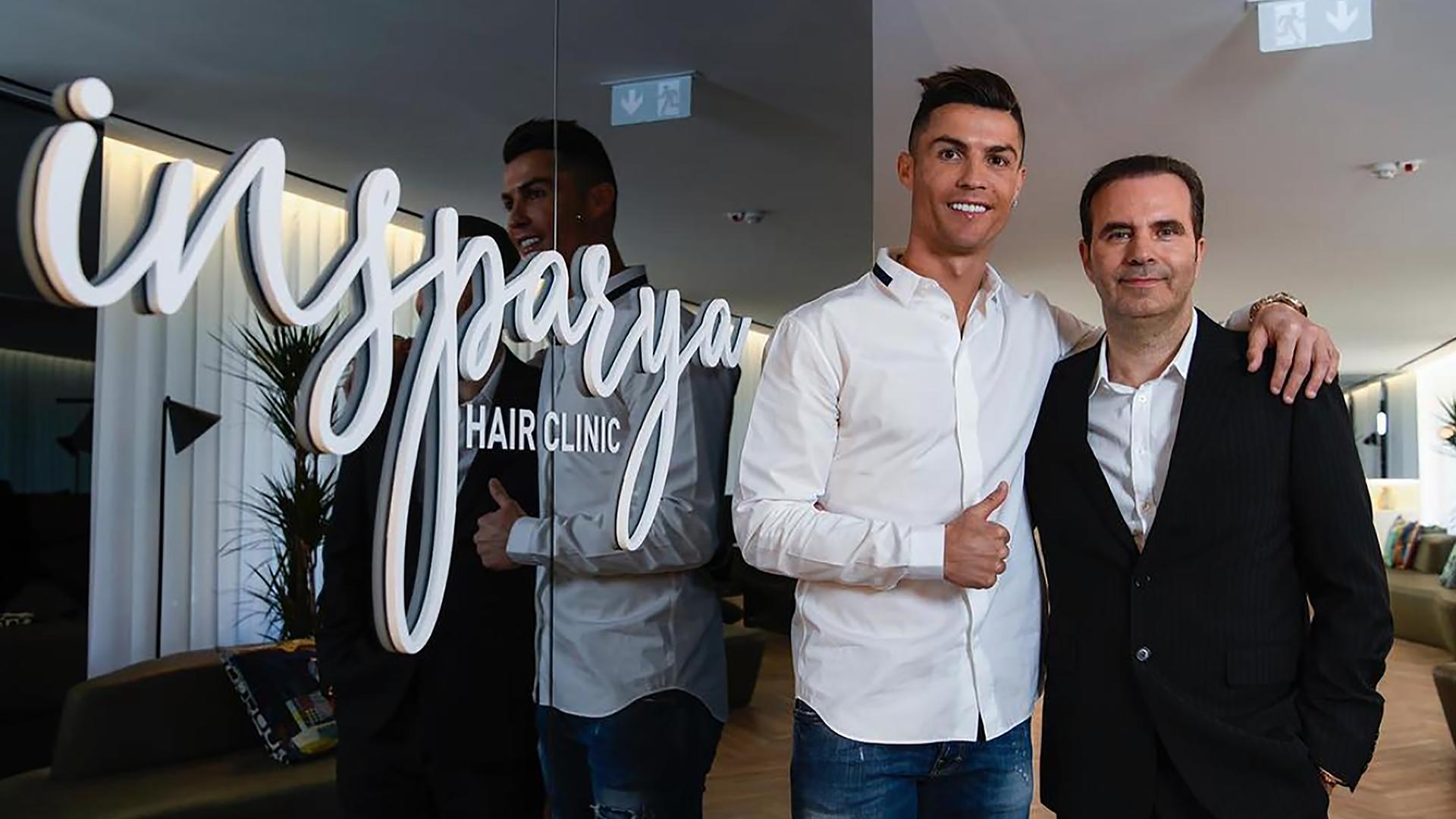 رونالدو يفتح مركز لزراعة الشعر في مدريد