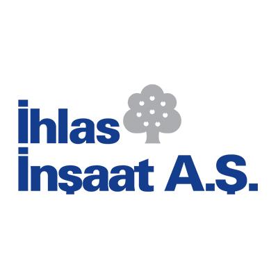 شعار شركة إخلاص للإنشاءات