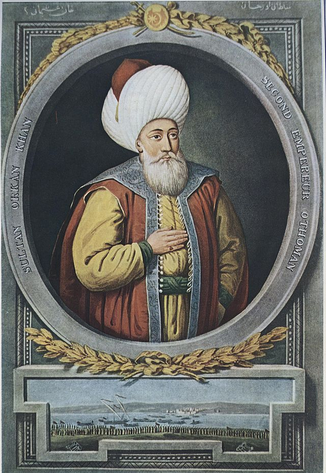 السلطان أورخان بن عثمان