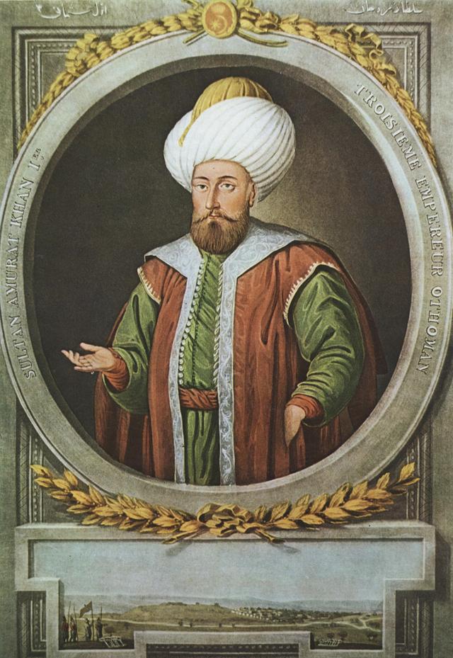السلطان مراد الأول بن أورخان