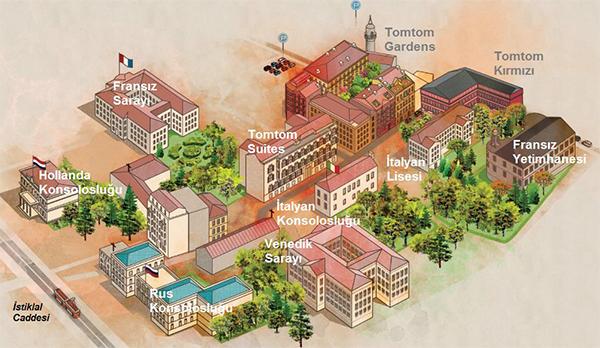 مخطط مشروع توم توم في تقسيم